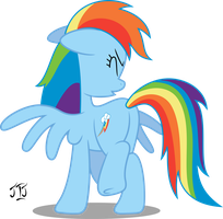 Rainbow dash Sneeze by MLP-Scribbles
