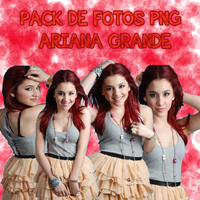 Pack PNG Ariana Grande by OneLonesslyGirl