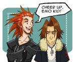 Cheer up, emo kid by Oriana132
