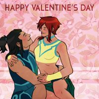 A Young Justice Valentine's Day by ReaperClamp