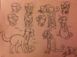 2p!Red Sketch Page by Woofsufsifs