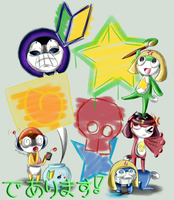 Keroro Kids ArtStreet by GhostBulb