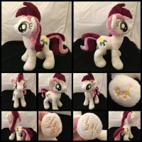 MLP 10 inch Custom Mare Roseluck  ::Commission:: by RubioWolf
