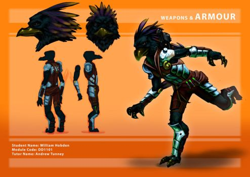 Armour Concept 01 by Pencil-Fluke