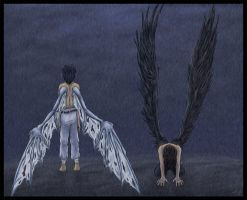 --Rising Demon, Fallen Angel-- by Lunaromon