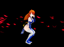 MMD Kasumi pose test by Pucaroo16