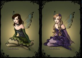 Fairy Shepard Sisters by LadyIlona1984