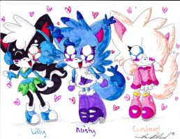 My Adorable Characters XD by Lilymint7