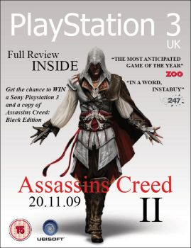 Assassins Creed magazine cover by JasonMiller1991
