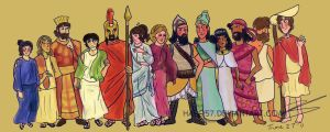 Greco-Persian War Height Chart by Hapo57