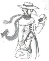 Plague Doctor by zoqi13