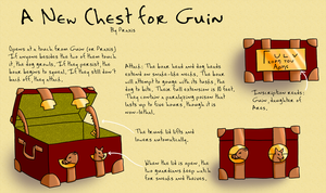 DR: Guin's New Chest by VicariousRed