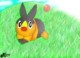 Tepig-for Megmewmew by leafyloo