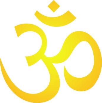 Aum Golden logo by Ynikesh