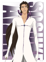 Sosuke Aizen Hollow Vector Colouring PREVIEW by TattyDesigns