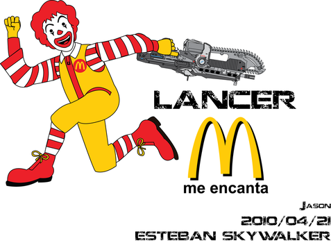 Ronald Lancer by sulechitayadormir