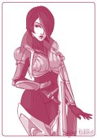 Fiora - League of Legends by Kalumis