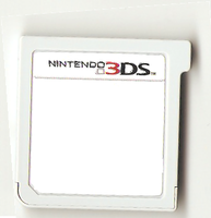 Blank 3DS game cartrige! by fakemon123
