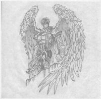 Archangel Michael by sweethitch-hiker