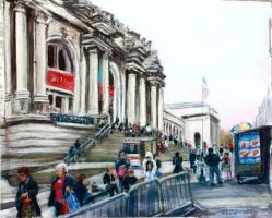 The Met Museum by Wulff-Arts