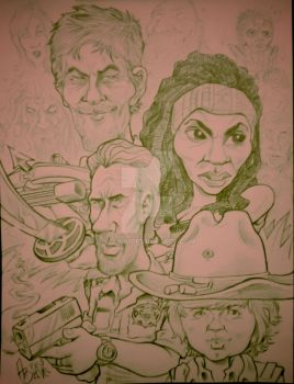 Caricatured Dead by Wraik