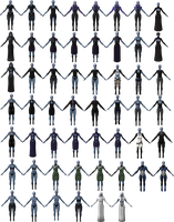 Liara Outfit Pack by Padme4000