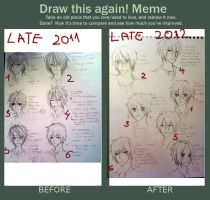 [MEME] Draw this again...kinda by KuroBaka22