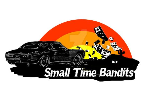 Small Time Bandits Band Logo by 0fade