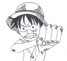 Luffy second Take by CronoCain