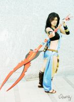 Oerba Yun Fang - Weapon of Choice by otakitty