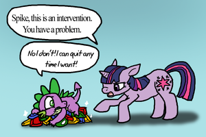 You Have A Problem Spike by DragonwolfRooke