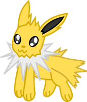 Jolteon - Chibi by Death-of-all