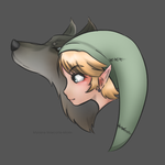 Twilight Princess FanArt - Cutie Link by Wyrielle