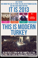 ModernTurkey - #occupygezi protest posters by mackill