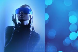blue electro by JuliaDunin