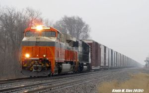 Interstate heritage # 8105 leads 181 Oakley IL by EternalFlame1891