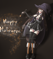 Halloween contest entry by Minrini