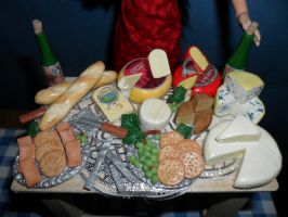 Cheese Tasting Table by kayanah