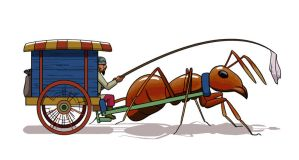 Ant Cart by Vineris