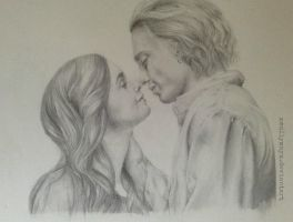 Clary Fray and Jace Herondale /:/:/ City of Bones by xMollyMayx