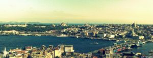 istanbul is under my feet by oeminler