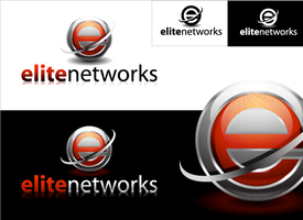 elie networks logo concept by phatik