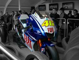 Valentino Rossi yamaha by Aertgeerts