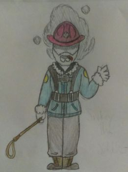Request #4: Smokey_The_Soldier by MissMagicShark