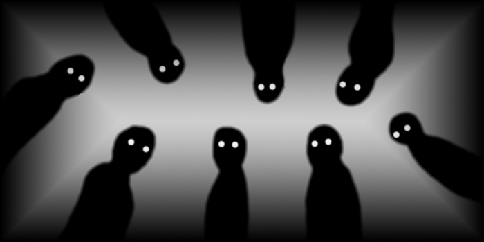 The shadow people by PatrickJac