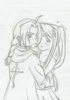 Random Ed/Winry picture by Pretty-Belle