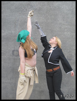 Anger - Ed and Winry by Spectreon