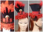 Circus Lion Tamer Inspired Mini Hat Fascinator by AbsolutelyFascinated