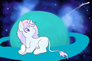 Chibi Pet's Shooting Star- Entry 2 by GoWaterTribe