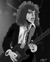 Angus Young Portrait by ice-crasher